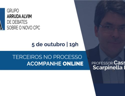 35º Meeting of Arruda Alvim Group of Debates about the New Brazilian Civil Procedure Code