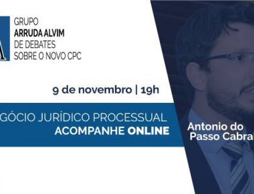 37º Meeting of Arruda Alvim Group of Debates about the New Brazilian Civil Procedure Code